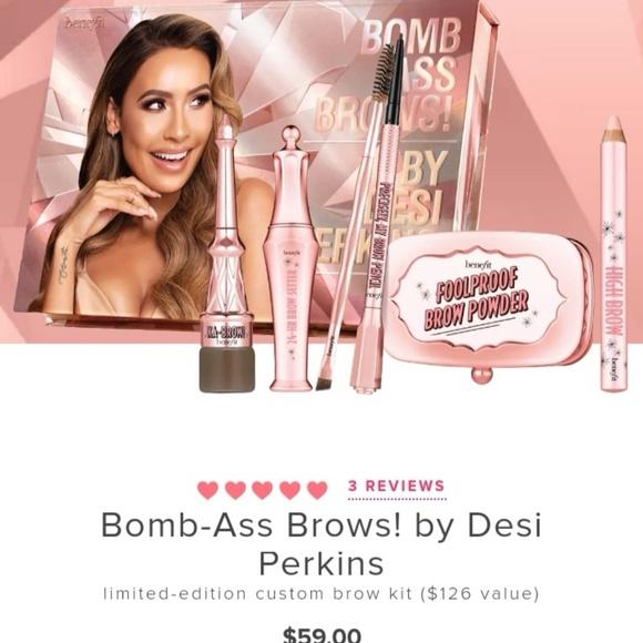 35f8e0221fa Benefit Makeup   Bomb Ass Brows By Desi Perkins Light   Poshmark